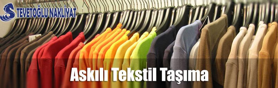 Askılı Tekstil Taşıma Hizmeti İstanbul