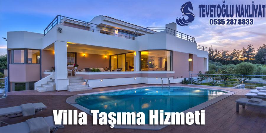 İstanbul Villa Taşıma Hizmeti - profesyonel villa taşımacılığı firması