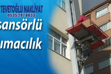 Asansörlü Taşıma İstanbul Asansörlü evden ve nakliyat ankara