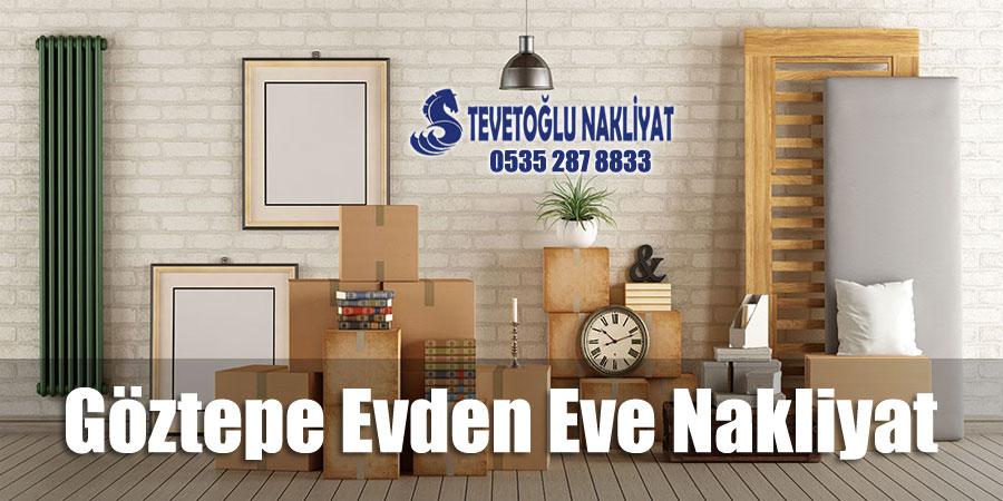 Göztepe Evden Eve Nakliyat - İstanbul Göztepe Ev Taşıma